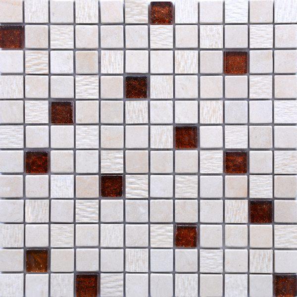 MM2313 mosaïque izmir thala beige