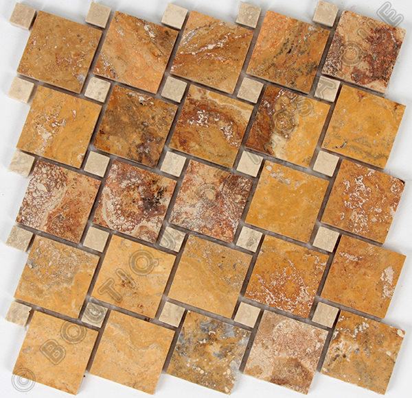 MMV18 mosaïque olgua scabas 30 x 30 cm
