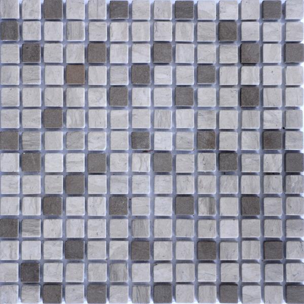 MM2002 mosaïque thala gris - gris foussana avec liquide