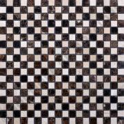 MM1517 mosaïque damier emperador