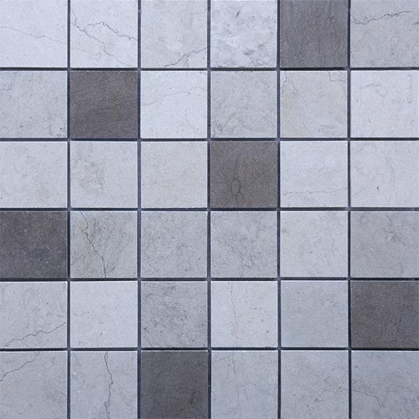 MM4843 mosaïque dorra gris