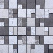 MMV137 Mosaïque quadro gris