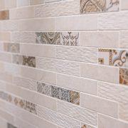 Salle de bain en mosaïque de marbre