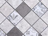 Mosaiques modernes variees (marbres et ceramiques)